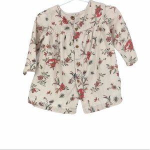$5 bundle add - Toddler floral button up cardigan
